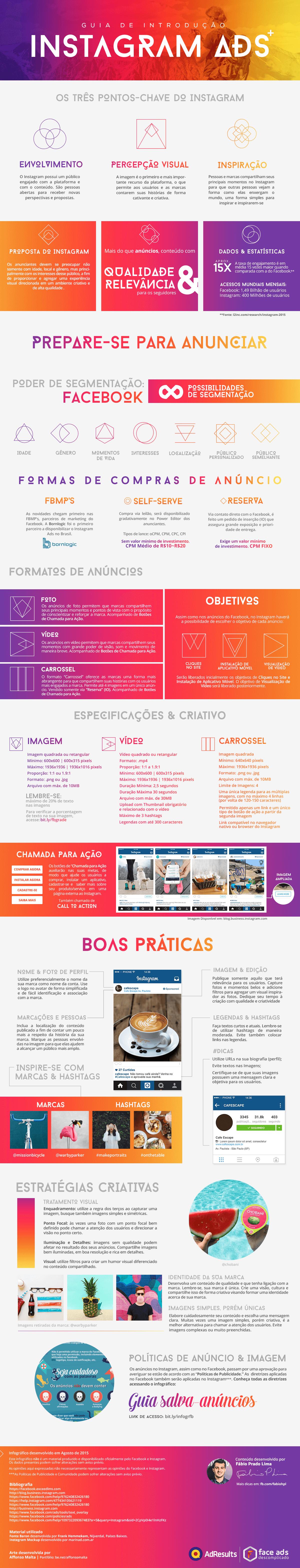 Infográfico: Instagram Ads (Anúncios no Instagram) – Como Anunciar e Dicas