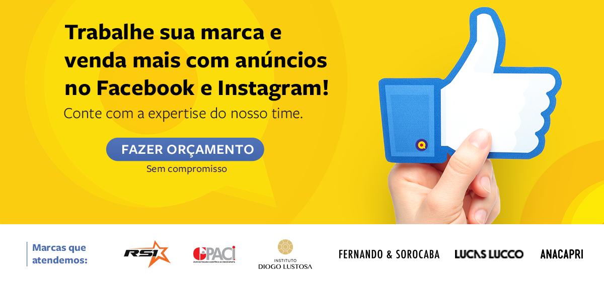 Fazer Orçamento Agência Facebook Ads