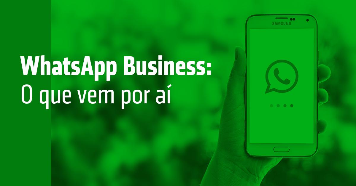 Novidade: WhatsApp lança novo app para empresas!