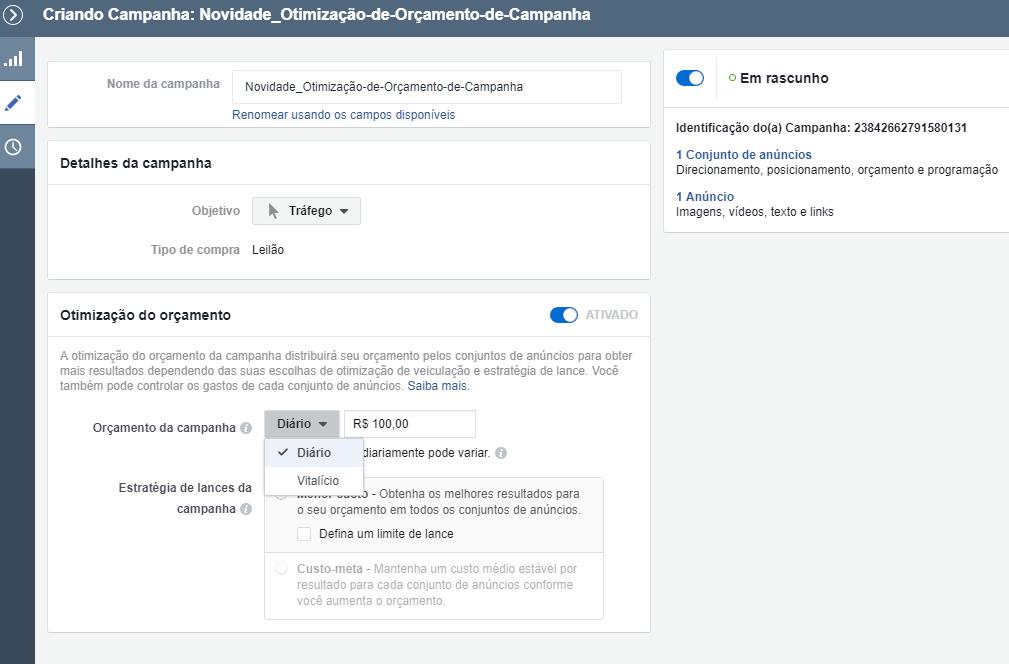 Facebook anuncia otimização de campanha