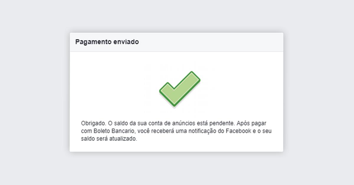 Passo 10 - Impulsionar publicação no Facebook
