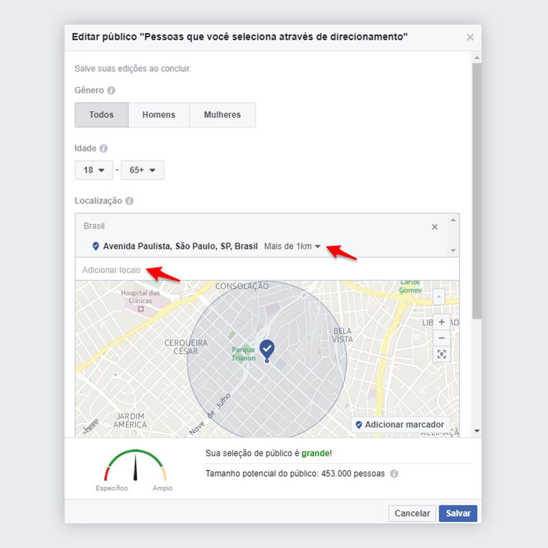 Passo 4 - Impulsionar publicação no Facebook