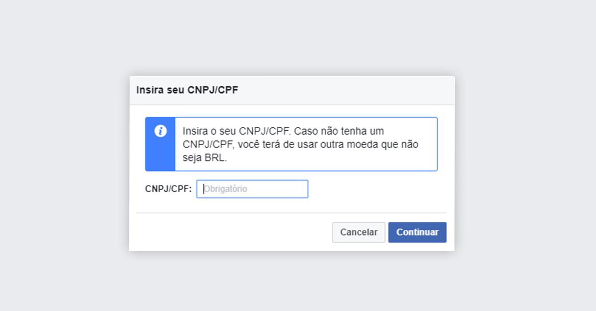 Passo 6 - Impulsionar publicação no Facebook