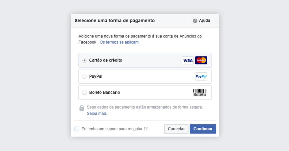Passo 7 - Impulsionar publicação no Facebook