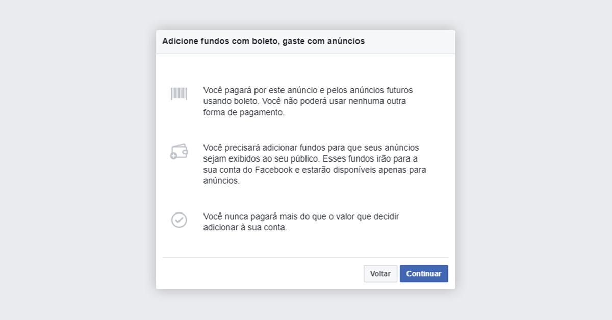 Passo 8 - Impulsionar publicação no Facebook