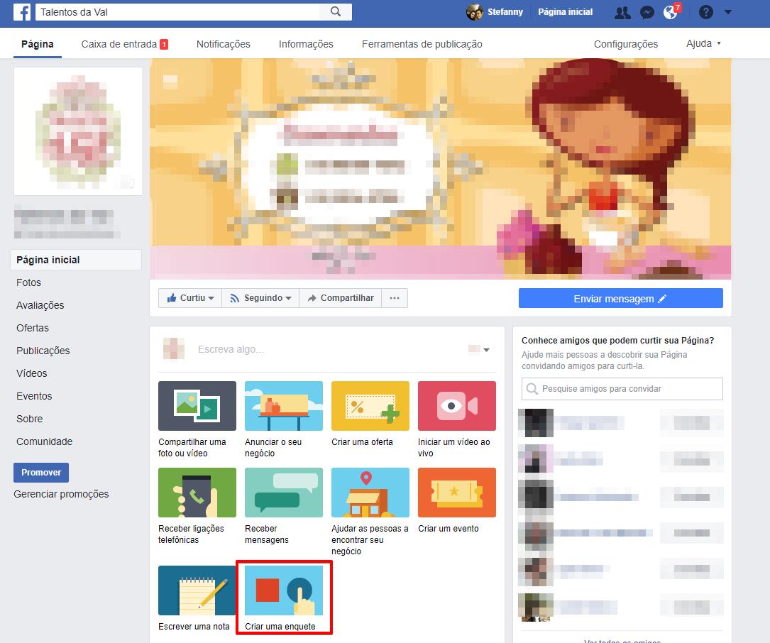 Como criar uma Enquete no Facebook em páginas no Facebook