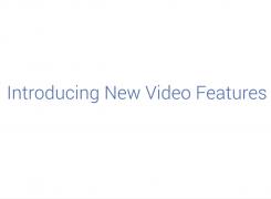 4 Novidades de Vídeo em Facebook Anunciadas Há Pouco!