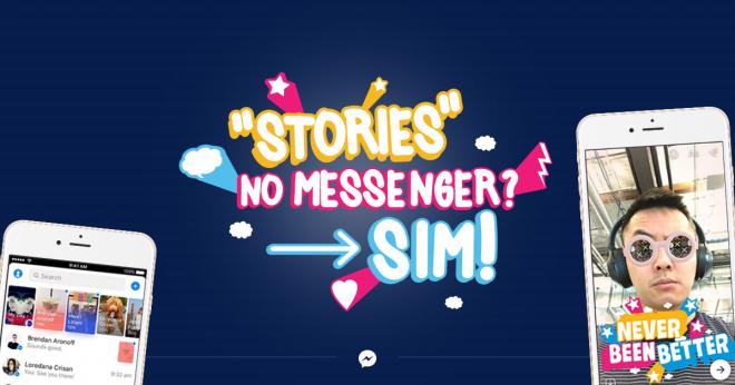 "Facebook libera ""Day"", o Stories do Messenger!"