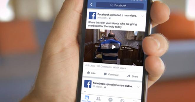 """Facebook atualizará a maneira que vídeos são """"pesados"""""""